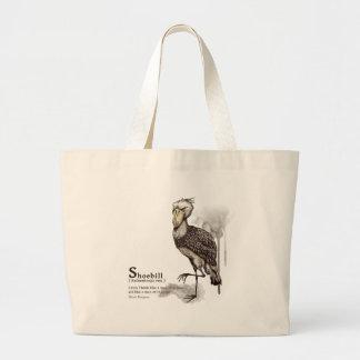 shoebill - mocha トートカバン