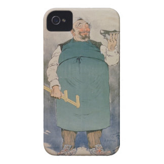 Shoemaker (colour litho) iPhone 4 cover
