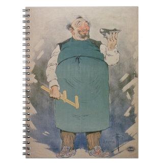 Shoemaker (colour litho) spiral notebooks