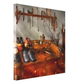 Shoemaker - The cobblers shop Canvas Prints
