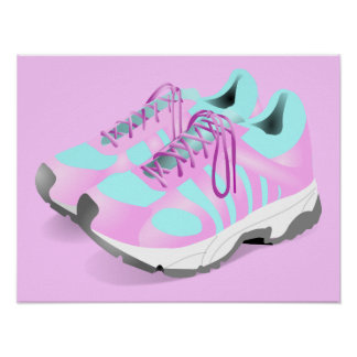 shoes-157716 CUTE PINK ATHLETIC RUNNERS STYLISH  s Poster