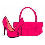 Shoes and Handbags Postcard
