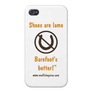 Shoes Are Lame iPhone 4 Case