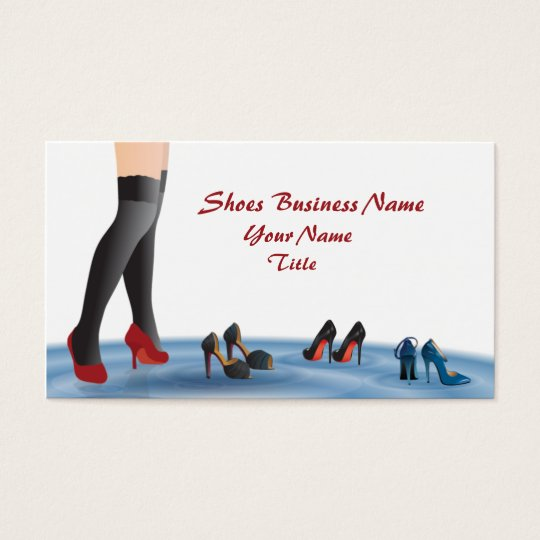Shoes Business Business Card