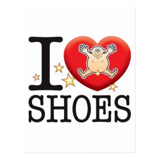 Shoes Love Man Postcard