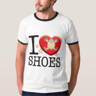 Shoes Love Man Tshirt