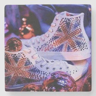 Shoes Merry Christmas_coaster Stone Coaster