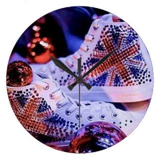 Shoes Merry Christmas_reloj Clock