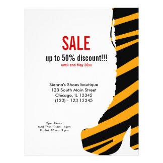 Shoes on SALE 21.5 Cm X 28 Cm Flyer