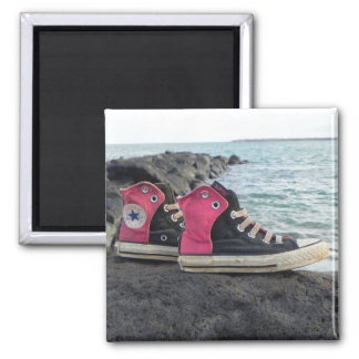 Shoes on the Beach Magnet