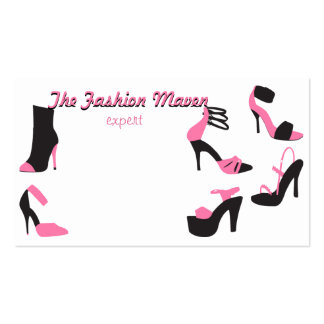 Shoes Shoes Shoes Business Card Template