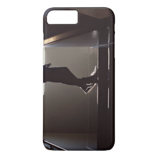 Shoes Themed, A Person'S Legs On The Landing Of Th iPhone 7 Plus Case