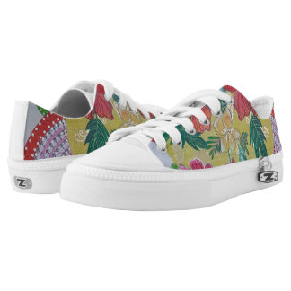 Shoes tropical printed shoes
