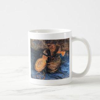 Shoes - Vincent Van Gogh Basic White Mug