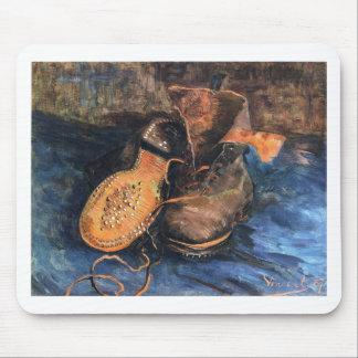 Shoes - Vincent Van Gogh Mouse Pad