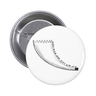 Shofar 6 Cm Round Badge