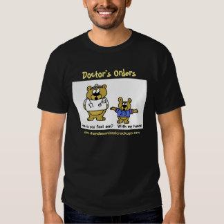 Shonda's Animal Crackups Doctor's Orders Dark T Shirts