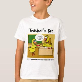 Shonda's Animal Crackups Teacher's Pet T-Shirt