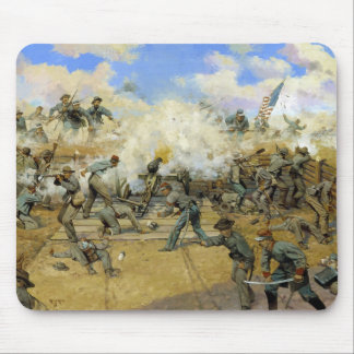 Shoot and Be Dammed by Keith Rocco Mousepad
