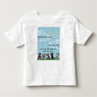 Shoot for the moon toddler T-Shirt