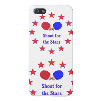 Shoot for the Stars Ping Pong Covers For iPhone 5
