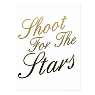 Shoot For The Stars Postcard