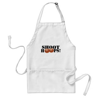Shoot Hoops! Standard Apron