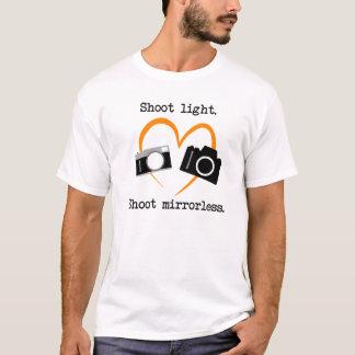 Shoot Mirrorless t-shirt for photographer