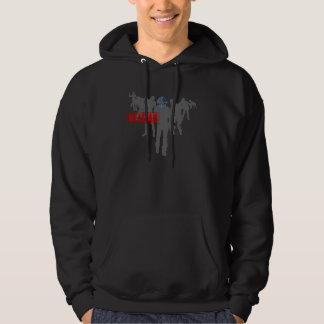 Shoot The Zombies - Shotgun Reload Game Gamer Sweatshirts
