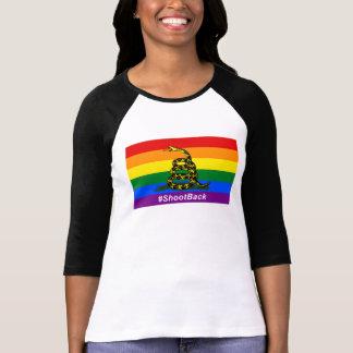 #ShootBack Raglan T-Shirt