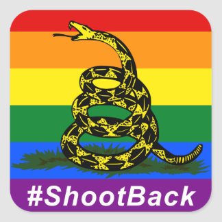 #ShootBack Sticker