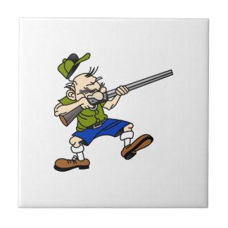 Shooter Small Square Tile