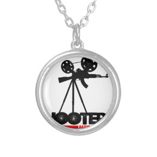SHOOTERZ MEDIA GEAR ROUND PENDANT NECKLACE
