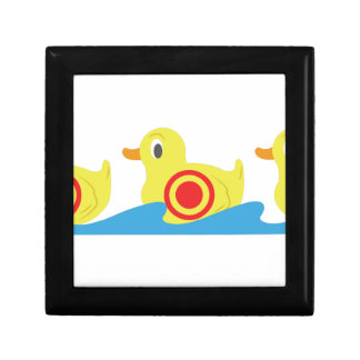 Shooting Gallery Ducks Small Square Gift Box