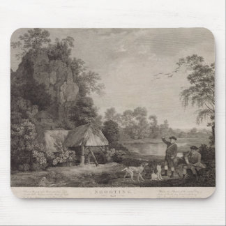 Shooting, plate 1, engraved by William Woollett (1 Mouse Mat