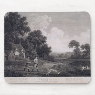 Shooting, plate 2, engraved by William Woollett (1 Mouse Mat