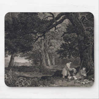 Shooting, plate 4, engraved by William Woollett (1 Mouse Mat