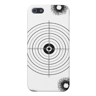 Shooting practice bullet holes bullets guns target iPhone 5/5S covers