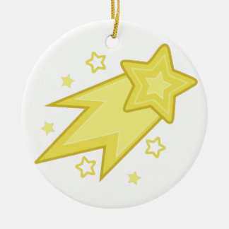 Shooting Star Christmas Ornament
