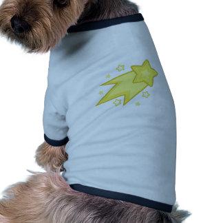 Shooting Star Ringer Dog Shirt