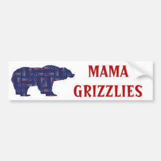 Shooting-Star-Mama-Grizzlie Bumper Sticker