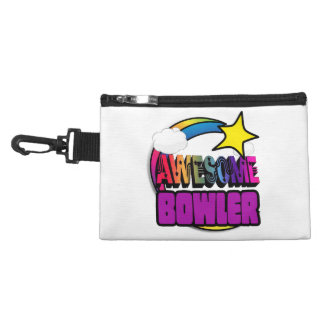 Shooting Star Rainbow Awesome Bowler Accessories Bag