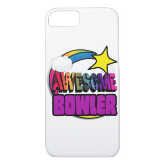 Shooting Star Rainbow Awesome Bowler iPhone 7 Case