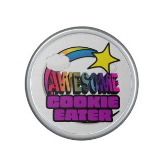 Shooting Star Rainbow Awesome Cookie Eater Speaker
