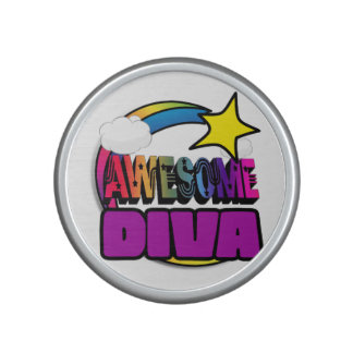 Shooting Star Rainbow Awesome Diva Speaker