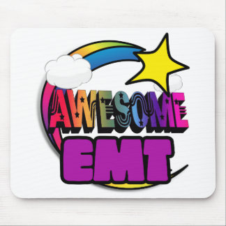 Shooting Star Rainbow Awesome EMT Mousepads