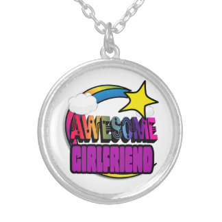 Shooting Star Rainbow Awesome Girlfriend Necklace