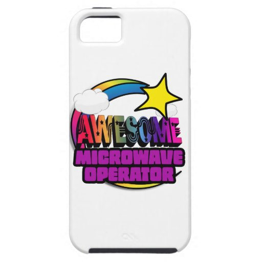 Shooting Star Rainbow Awesome Microwave Operator iPhone 5 Case