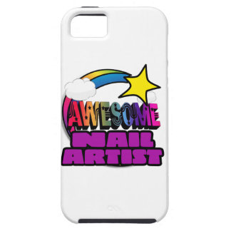 Shooting Star Rainbow Awesome Nail Artist iPhone 5 Cover