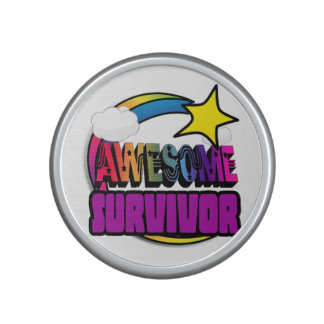 Shooting Star Rainbow Awesome Survivor Bluetooth Speaker